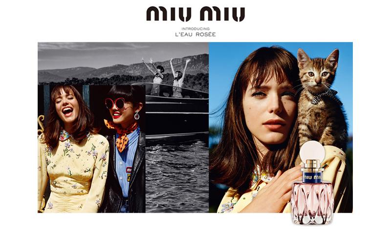 Miu Miu 释出全新香水 L'eau Rosée