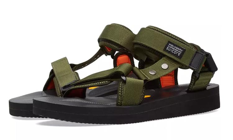 传奇品牌 Nigel Cabourn 与 SUICOKE 打造联名凉鞋