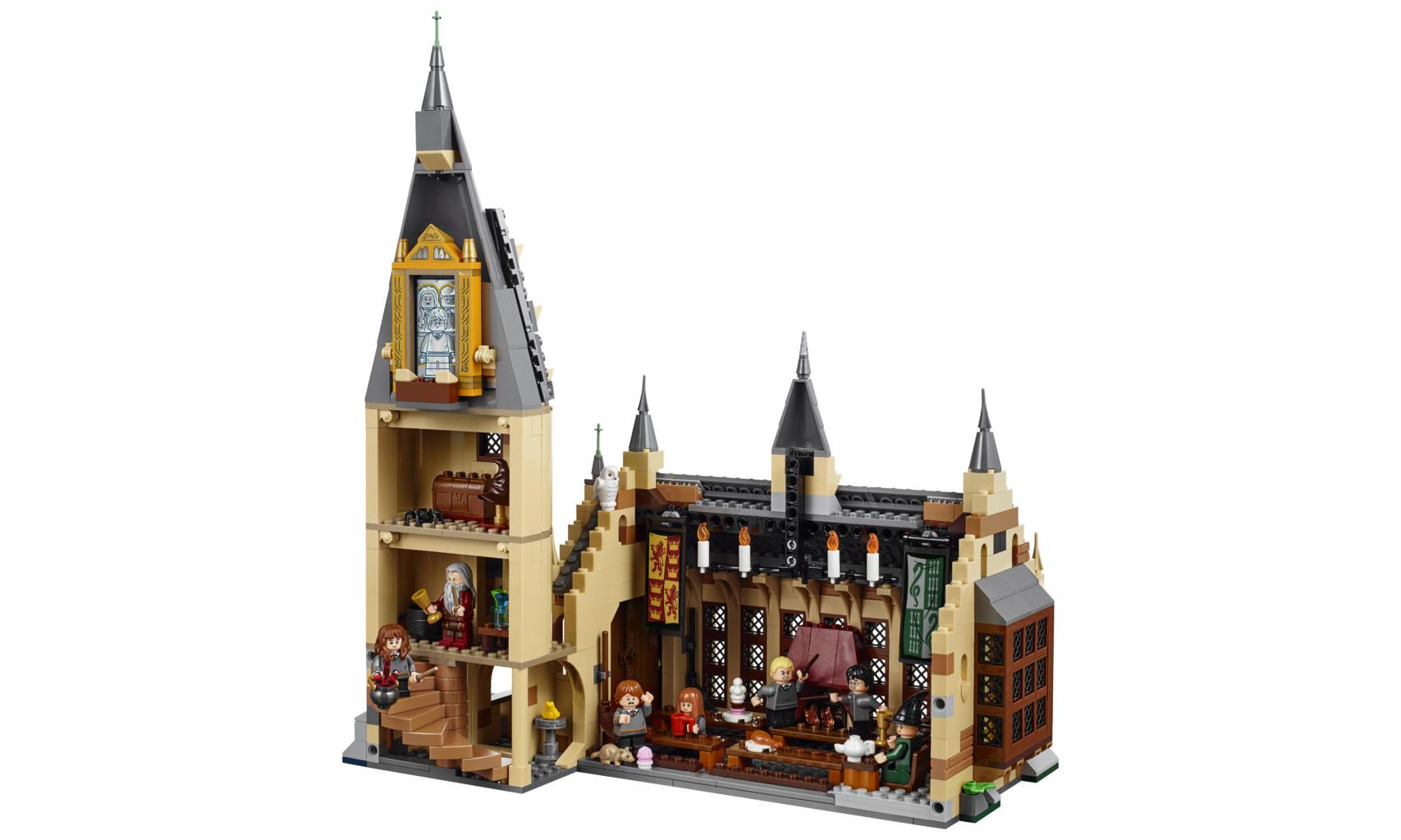 魔法迷必入!LEGO 发布霍格沃茨城堡套装
