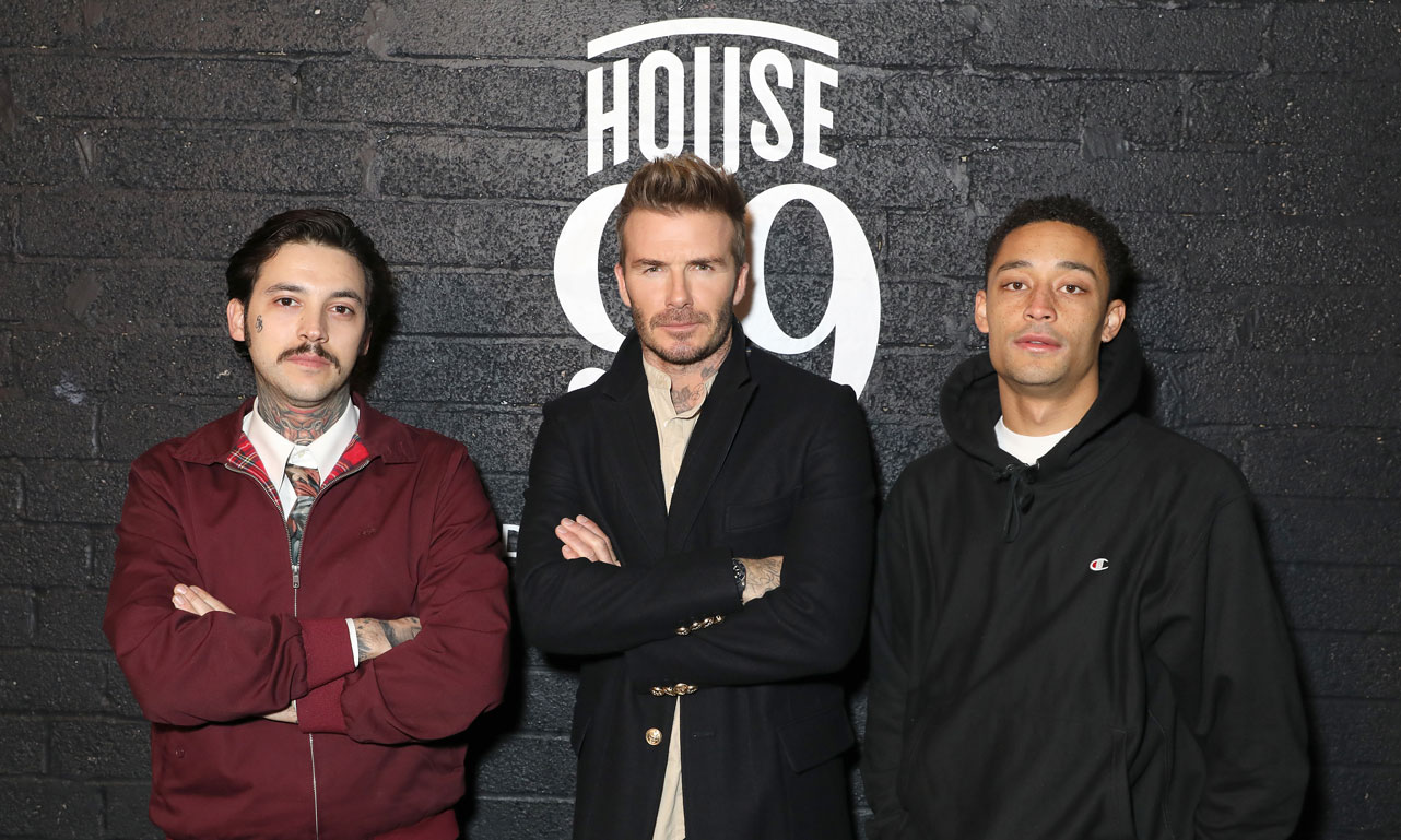 大卫·贝克汉姆男士理容品牌 HOUSE 99 伦敦发布会回顾