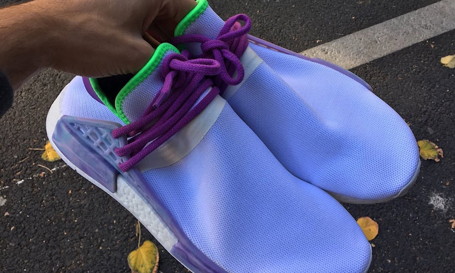 Pharrell Williams x adidas Originals Hu NMD Trail 未发售 Sample 曝光
