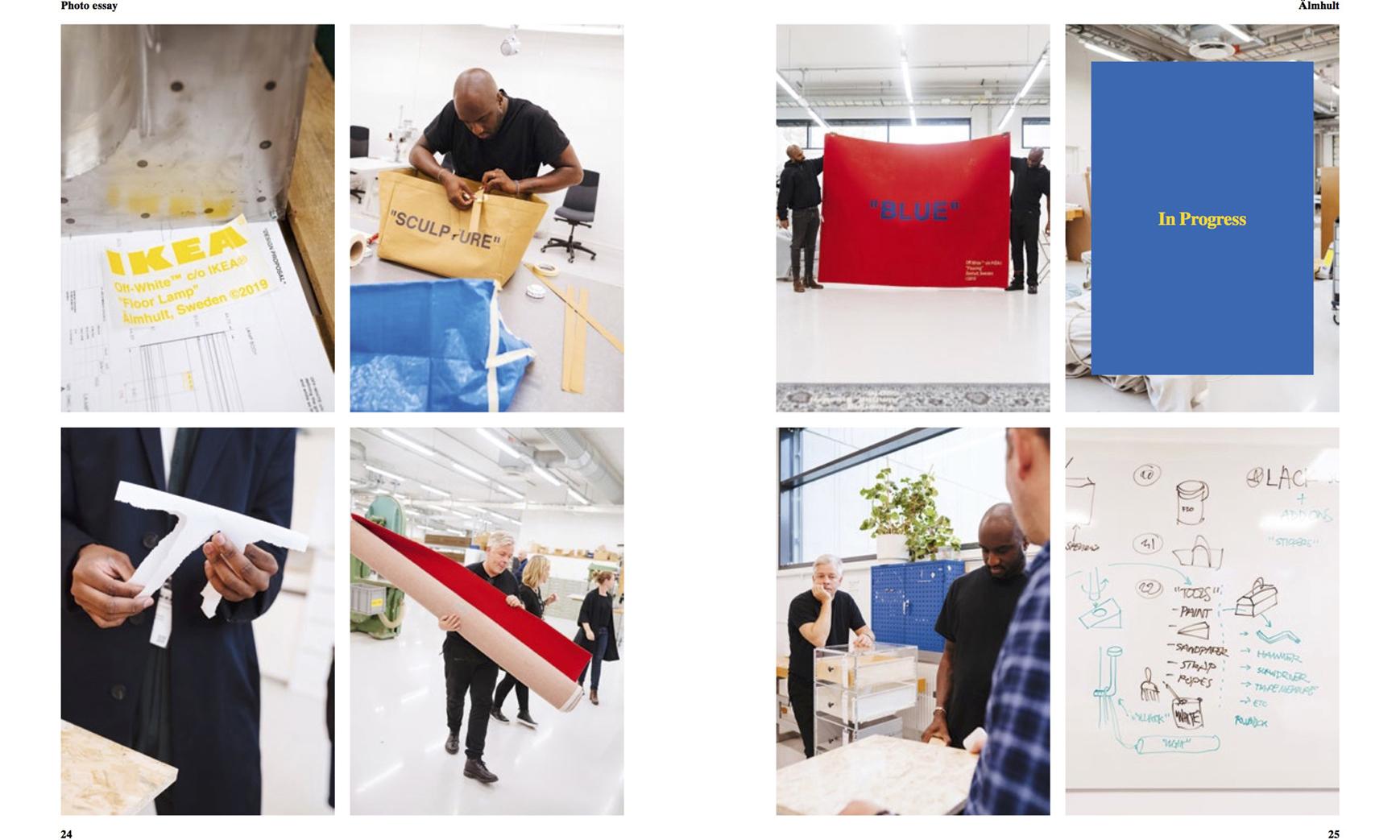 《System Magazine》曝光 Off-White™ x IKEA 更多联名单品