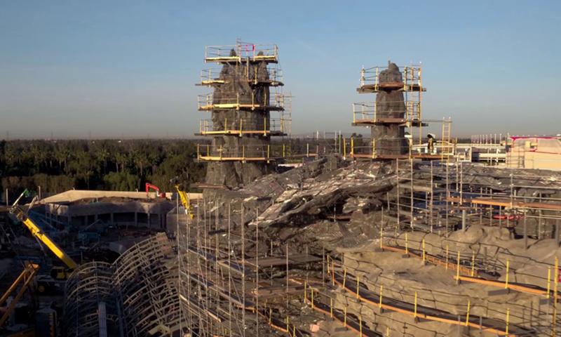 迪士尼《星球大战》主题乐园建造进度如何?