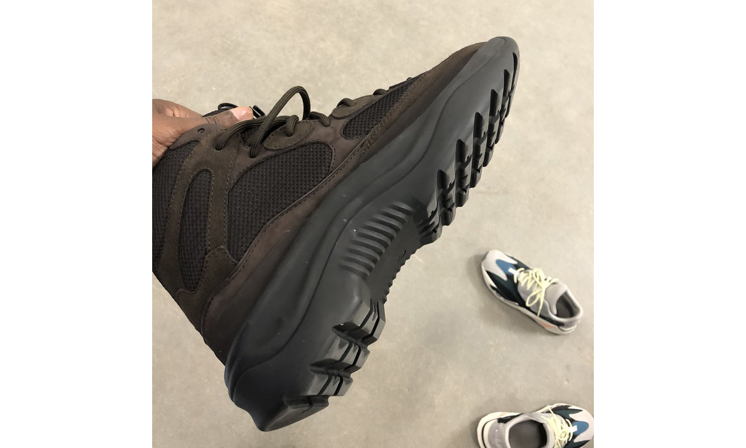 Kanye West 花了六个月重新设计 Rat Boot
