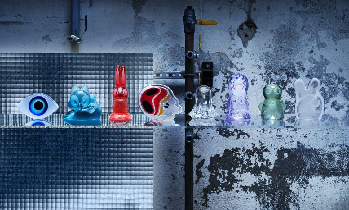 宜家找到 8 位艺术家合作,带来了一个平价玻璃玩偶系列