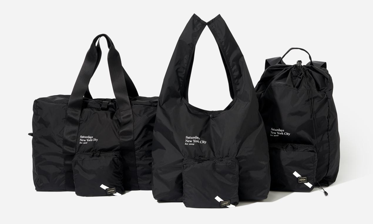 Saturdays NYC 联手 PORTER 打造全新包袋系列