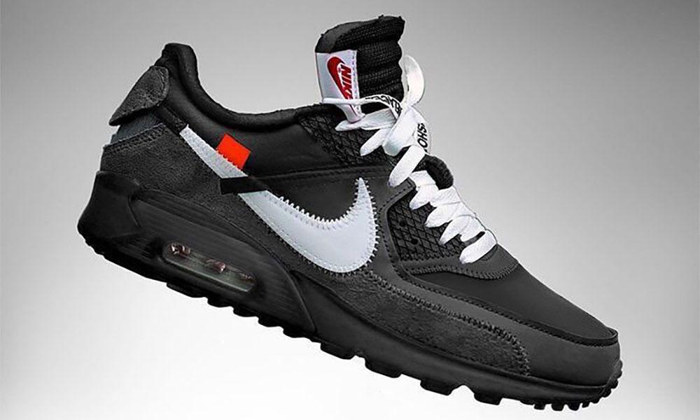 Virgil Abloh x Nike Air Max 90 纯黑配色发售信息释出