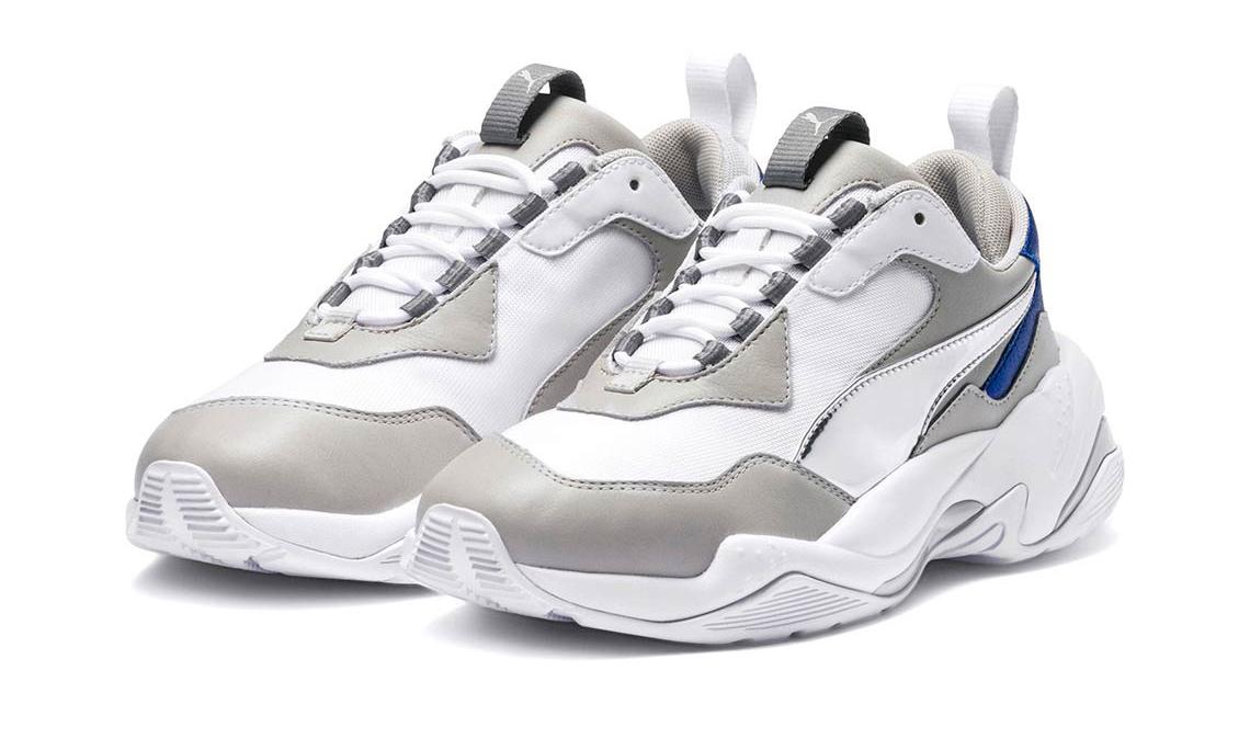 老爹鞋继续走热,PUMA Thunder Electric 发布两款全新配色