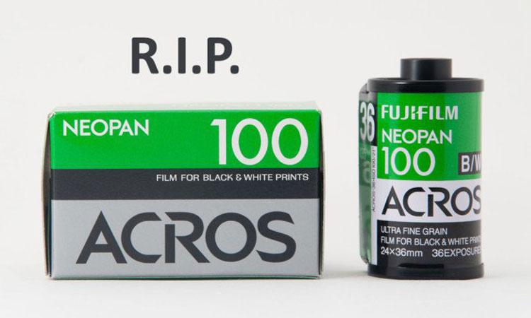 FUJIFILM 宣布终止旗下所有黑白系列产品