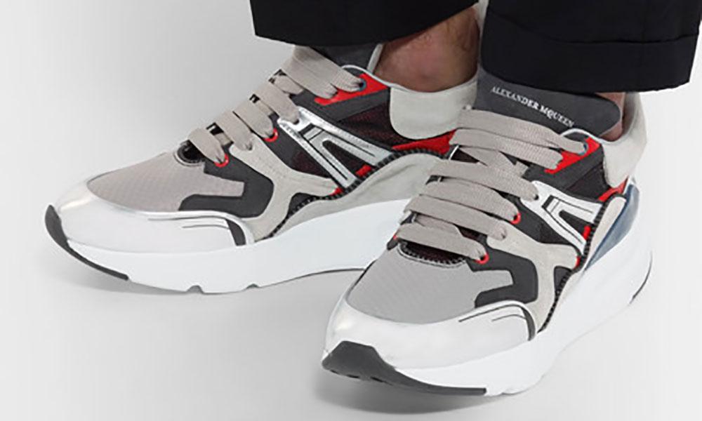 Alexander McQueen 推出新款 Chunky Shoe ,似乎生在老爹鞋之前?
