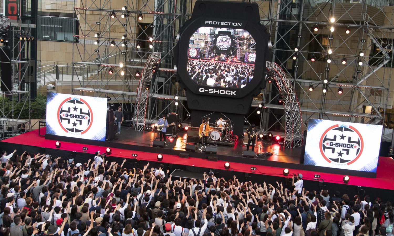 G-SHOCK 在东京搞了一场盛大的生日派对,现场都发生了什么事?