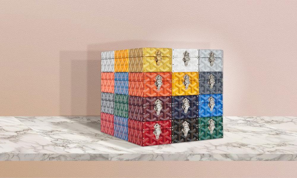 """Goyard 推出全新珠宝箱,每一款都 """"独一无二"""""""