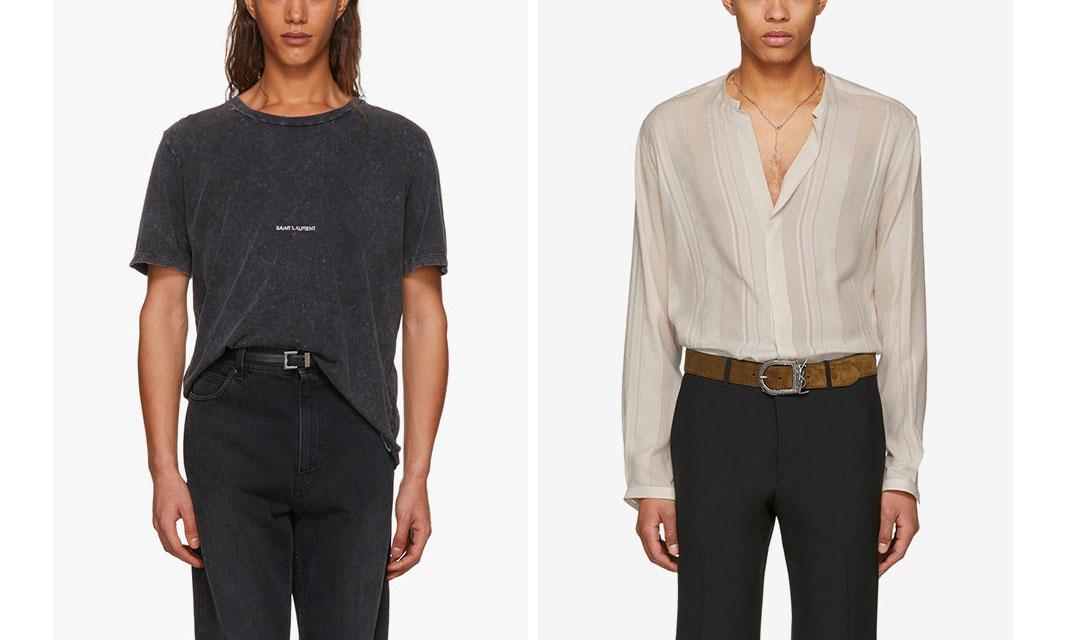 奢华又简约,YSL 以精美为主推出新的服饰系列