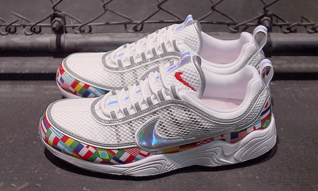 助力世界杯,Nike 发布国旗球鞋套装