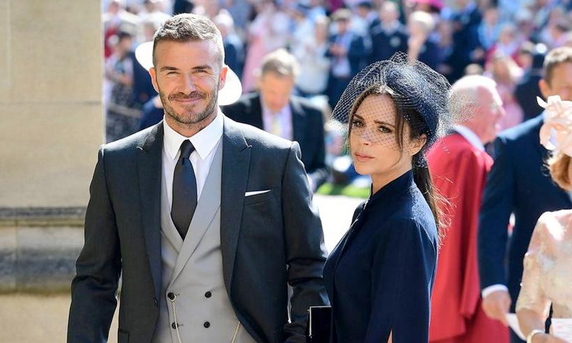 看看贝克汉姆和克鲁尼夫妇参加皇室婚礼都穿了什么