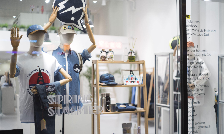 闹市中的时尚乌托邦,简易生活概念店 Monochrome