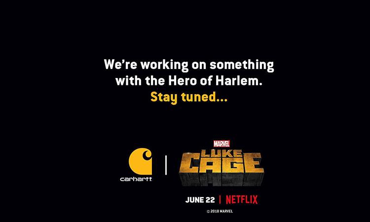 《Luke Cage》第二季即将开播,Carhartt 也来跨界合作