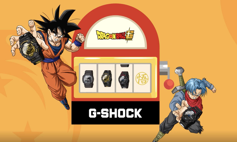 梦寐以求的《Dragon Ball Supper》x G-SHOCK 联名终于来了