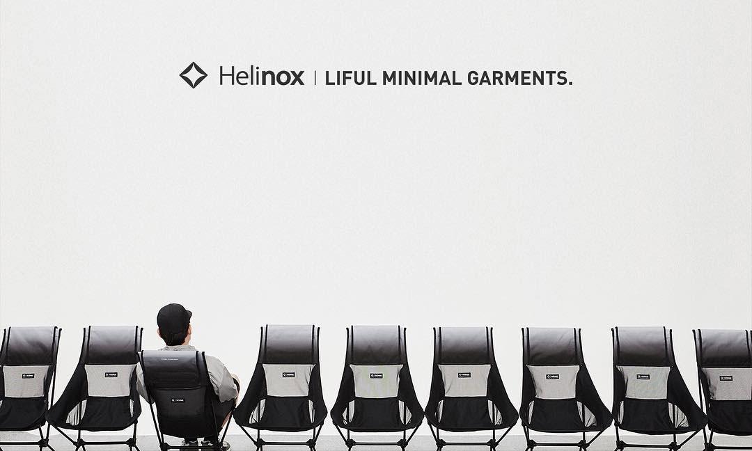 LIFUL x Helinox 2018 夏季联名系列预告