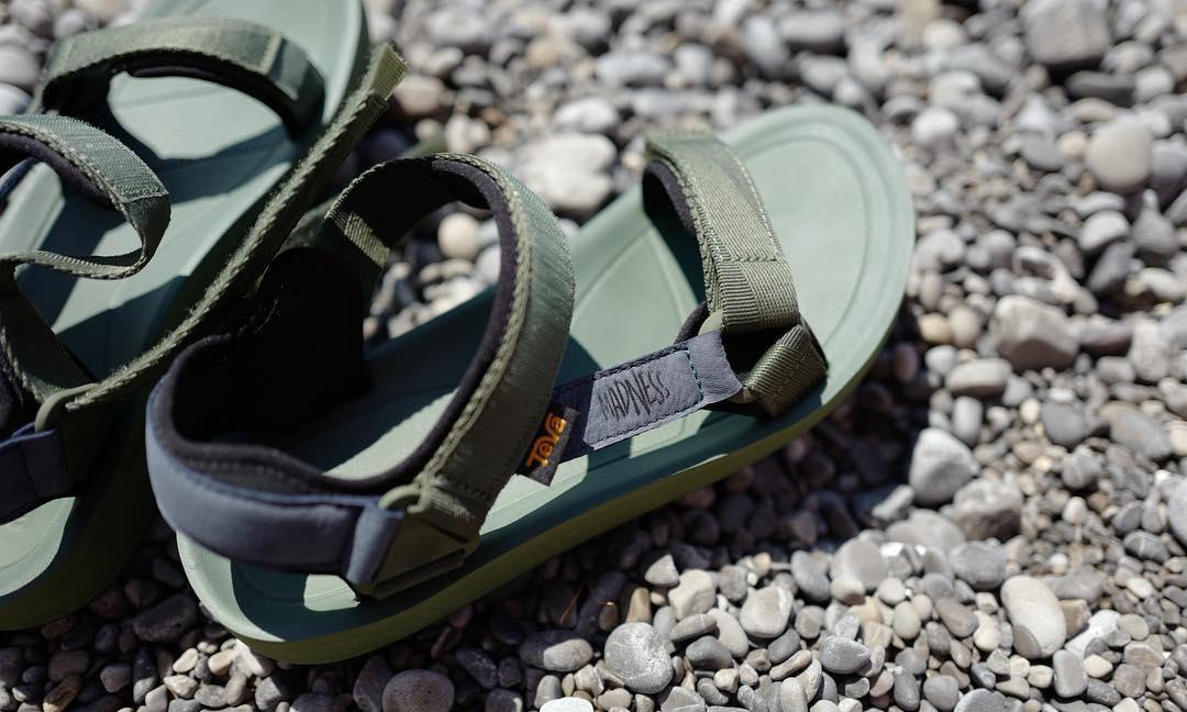 MADNESS 与 Teva 带来一款联名版凉鞋