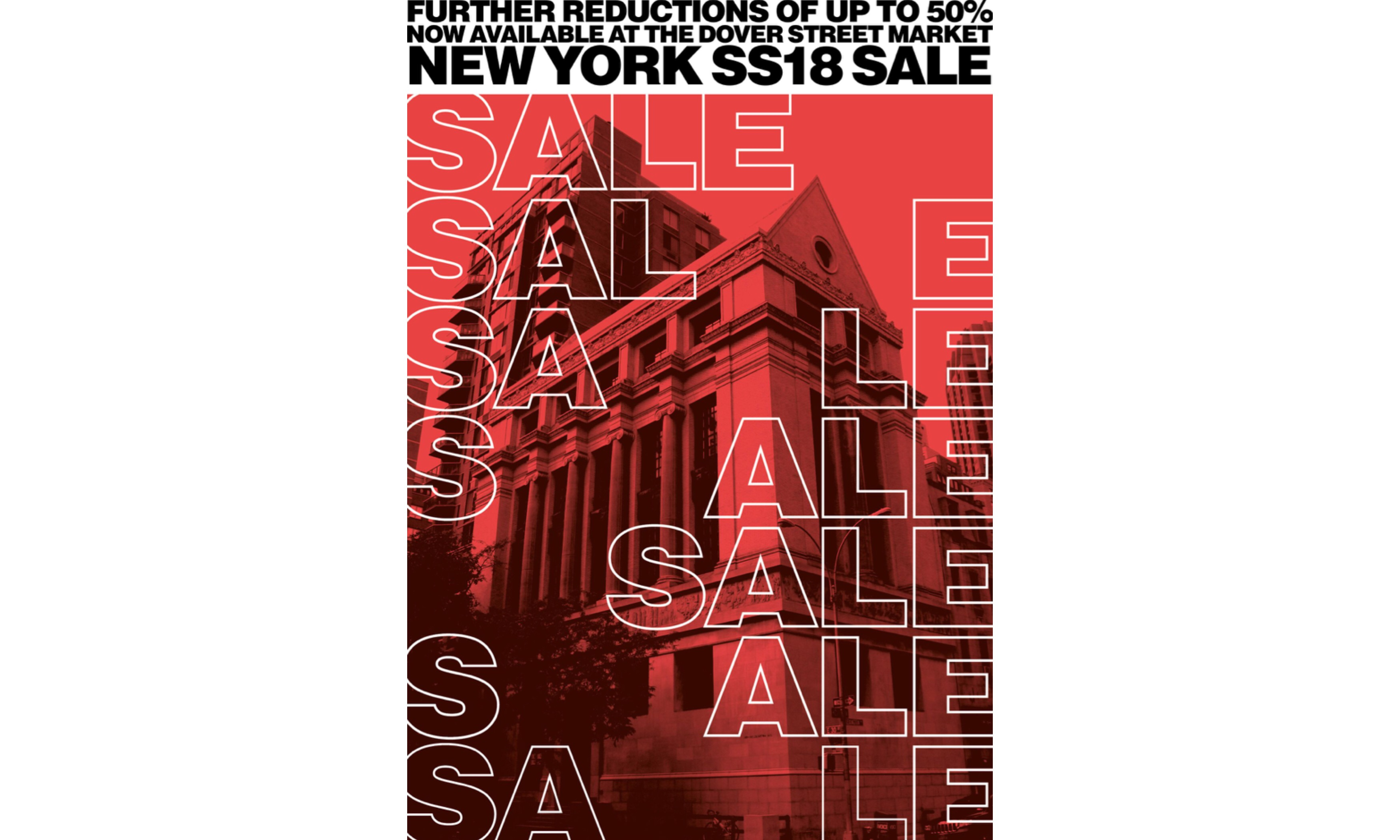 Dover Street Market New York 开启 18 春夏半价模式