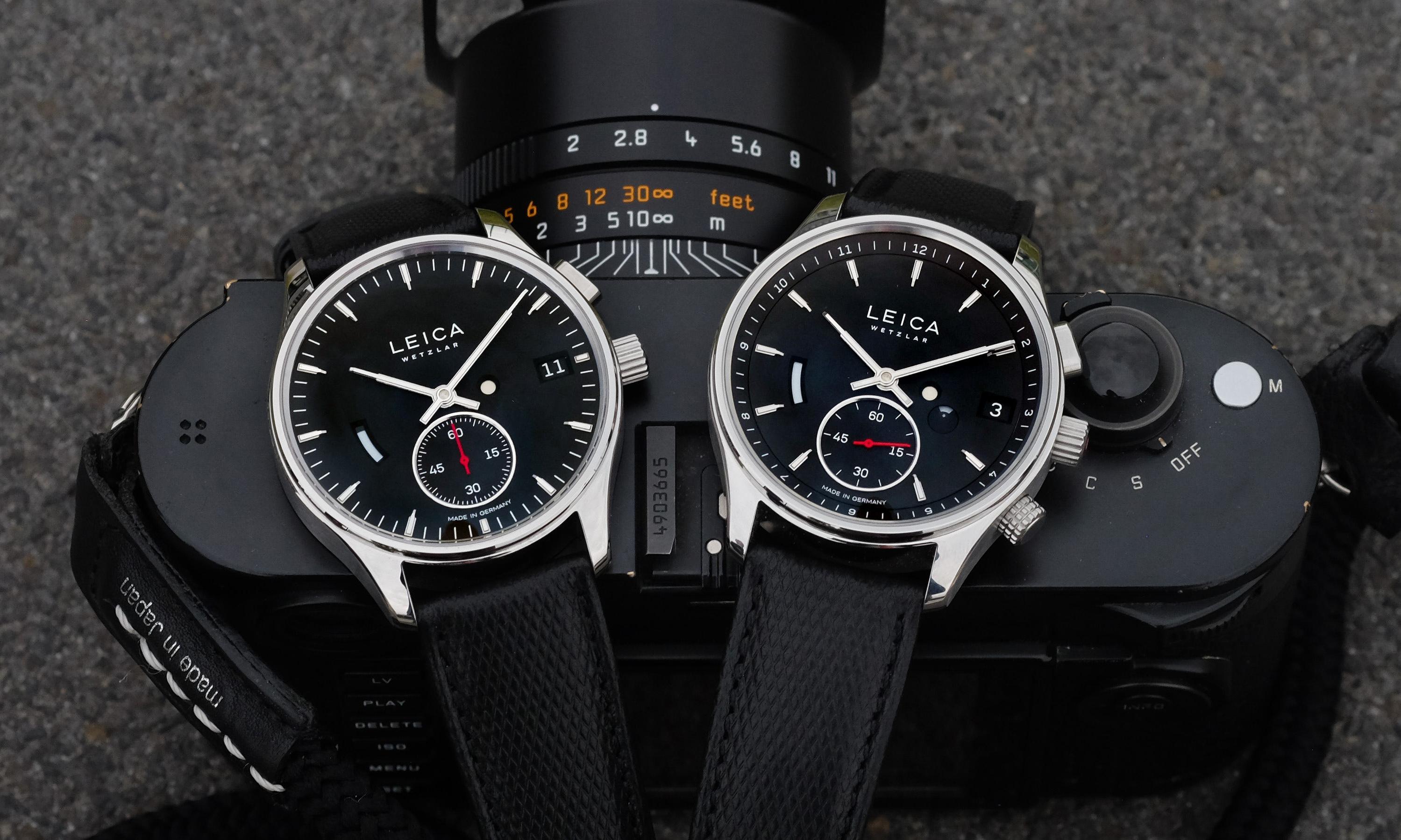 Leica 出的手表,超限量 400 只