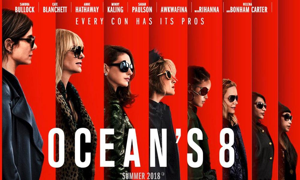 《Ocean's 8》勇夺票房第一,拿下北美周末冠军