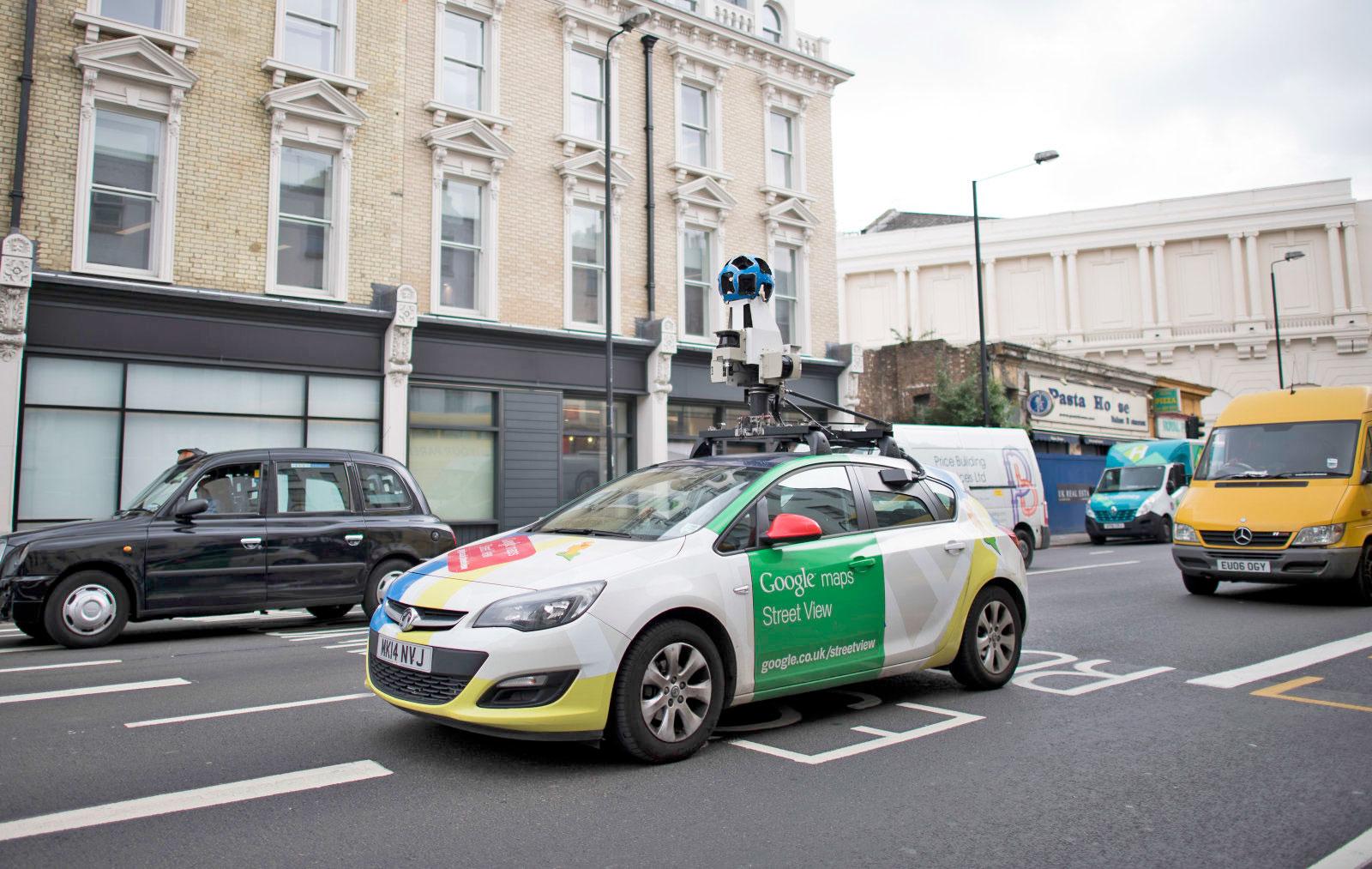 Google 街景车即将开启监测空气质量的职能