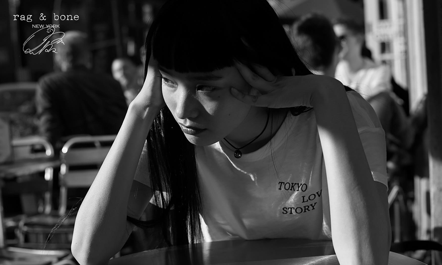 """日模 YUKA MANNAMI 演绎 rag & bone 全新 """"D.I.Y. PROJECT"""""""