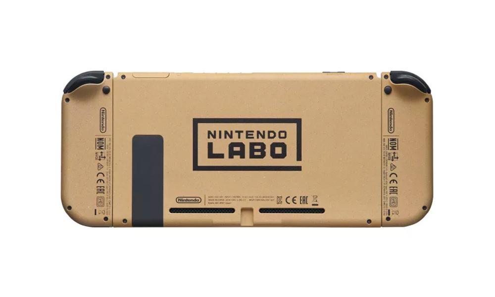 只送不卖,任天堂推出 LABO 瓦楞纸主题 Switch 主机