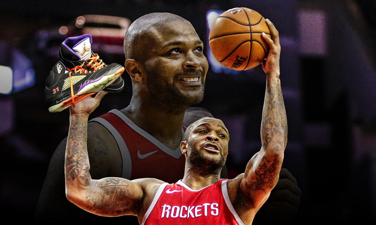 官方认证!P.J. Tucker 被评选为 NBA 球鞋王