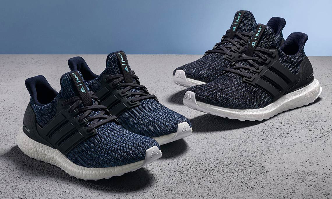"Parley x adidas 全新 Ultra Boost ""Deep Ocean Blue"" 联名系列本月登场"