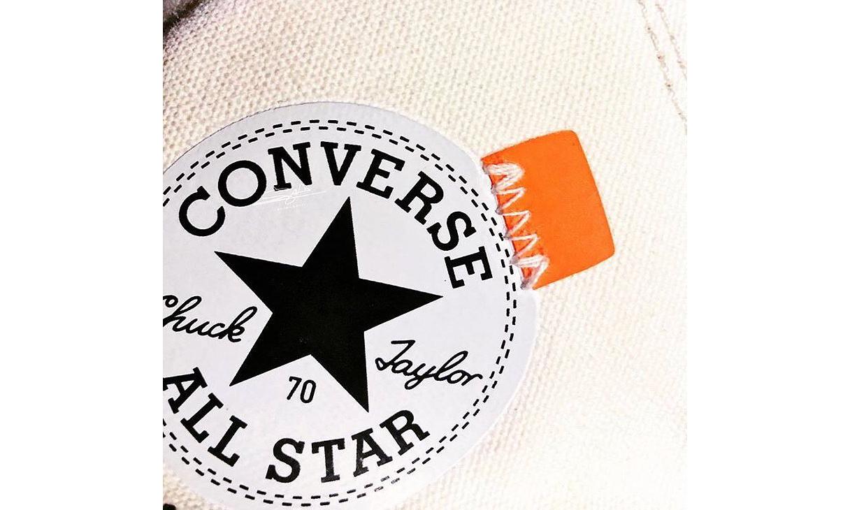 疑似 Virgil Abloh x CONVERSE 新款 Chuck Taylor '70 联名细节曝光