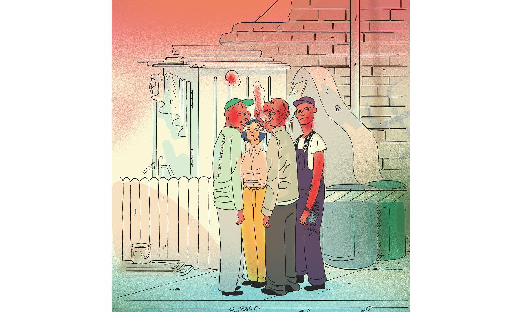 Carhartt WIP x BRAIN DEAD 用漫画呈现最新联名预告