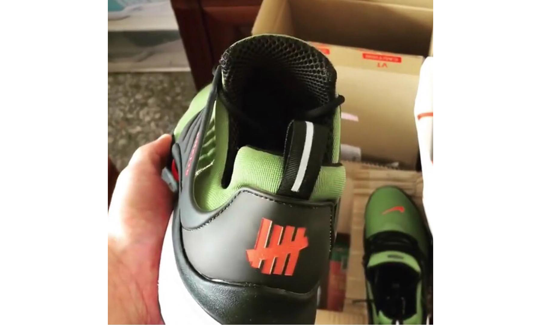 UNDEFEATED x Nike Air Presto 联名新作曝光