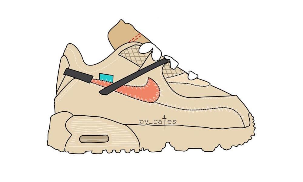 一套还不够!Virgil Abloh x NikeLab Air Max 90 也有亲子装