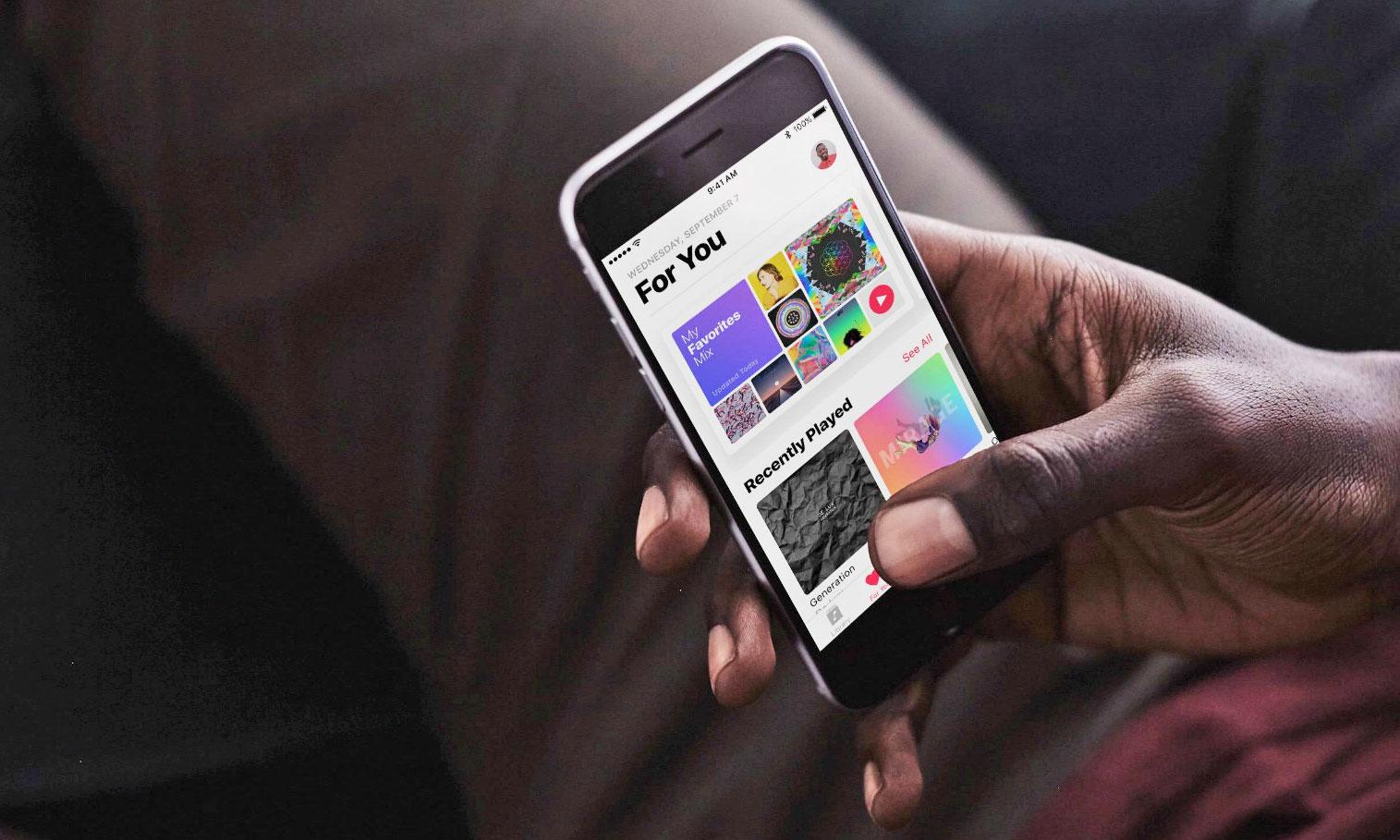 业内人士表示 Apple Music 在美订阅用户数已经超过 Spotify