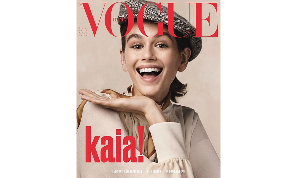 Kaia Gerber 登上《VOGUE》意大利版 7 月刊