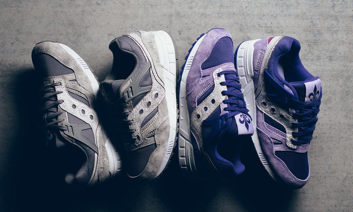"SAUCONY 发布 Grid SD ""Garden District"" 套装"