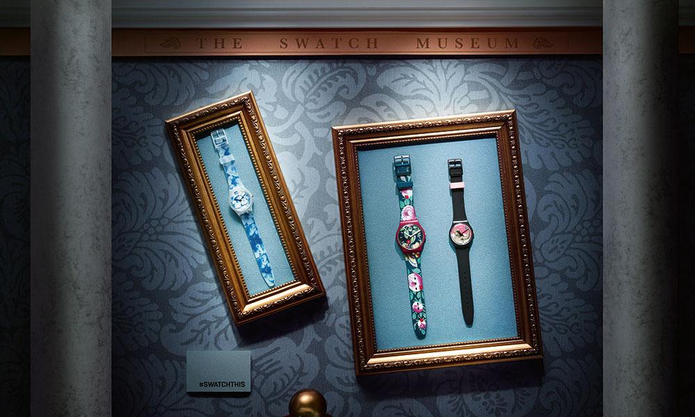 SWATCH 带来全新艺术联名系列手表