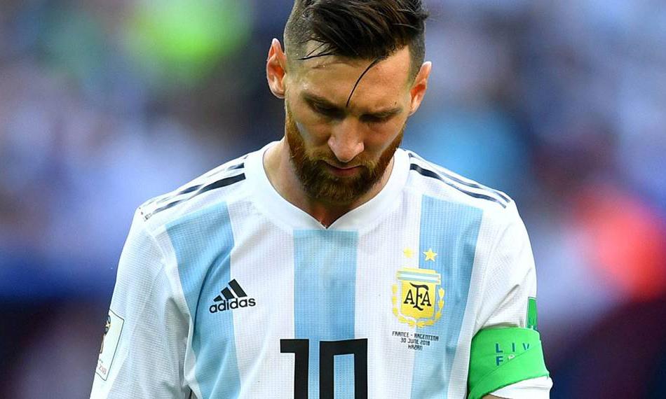 梅西暂时离开阿根廷国家队