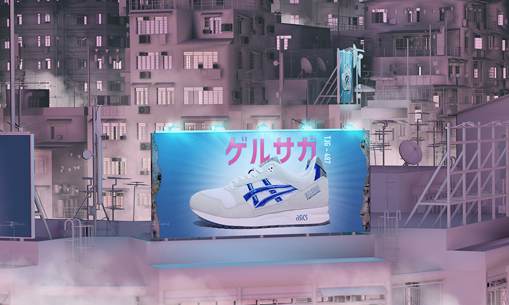 ASICSTIGER 携手 Footpatrol 打造联名 GELSAGA 鞋款