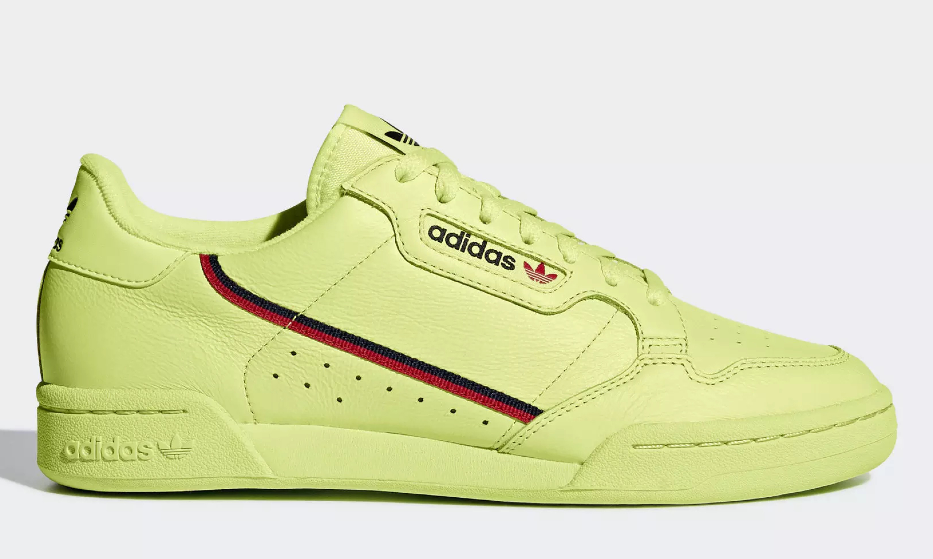"Yeezy 替代品?adidas Continental 80 ""Semi Frozen Yellow"" 即将发售"