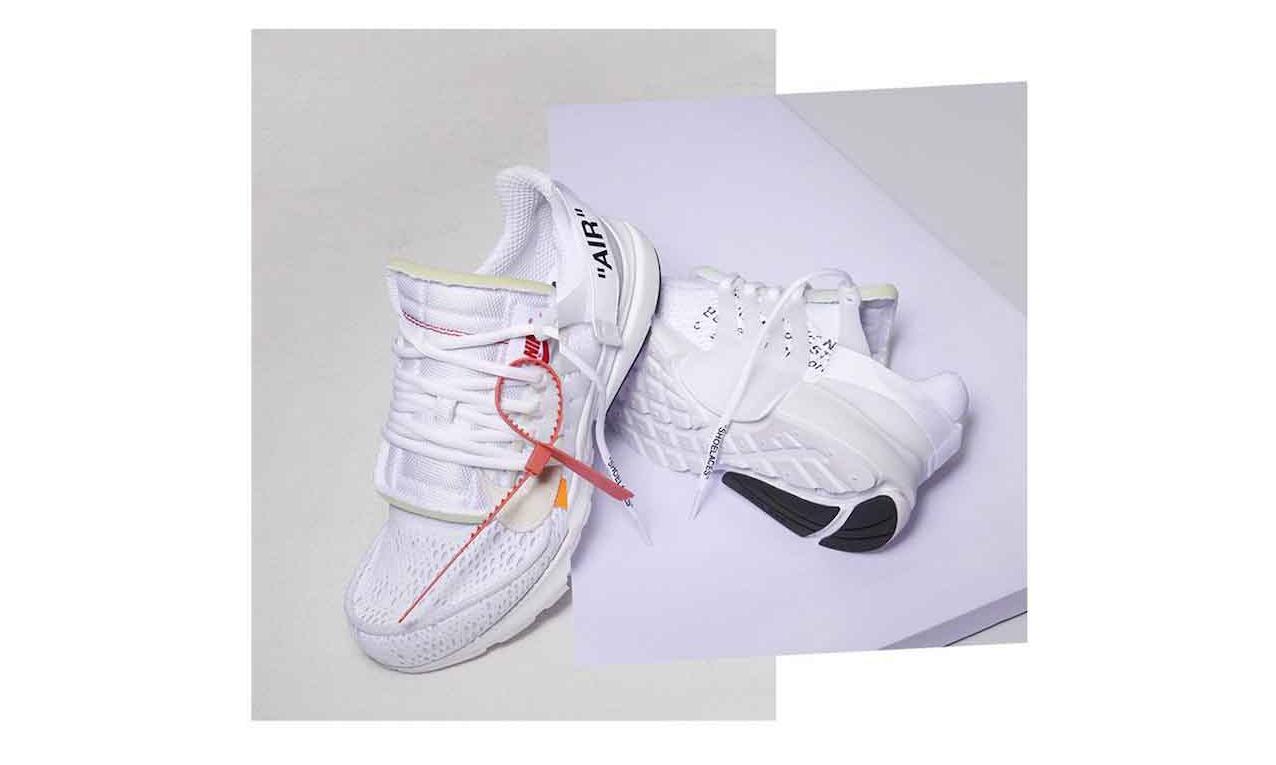 Virgil Abloh x Nike Air Presto 于 I.T 小程序开启抽签通道