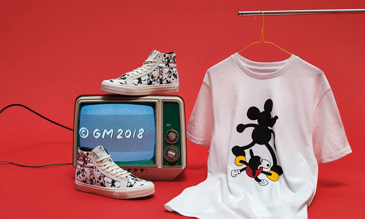 庆祝 Mickey Mouse 90 周年,Vans x Disney 开启联名企划