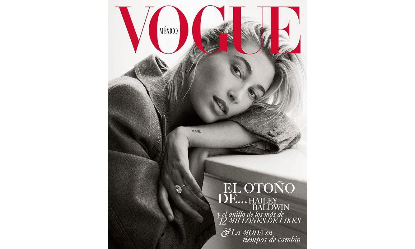 Hailey Baldwin 登上《VOGUE》墨西哥版 9 月刊