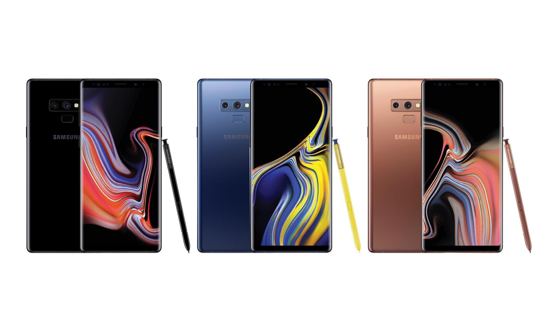售价 7499 元起,三星 Galaxy Note 9 正式发布