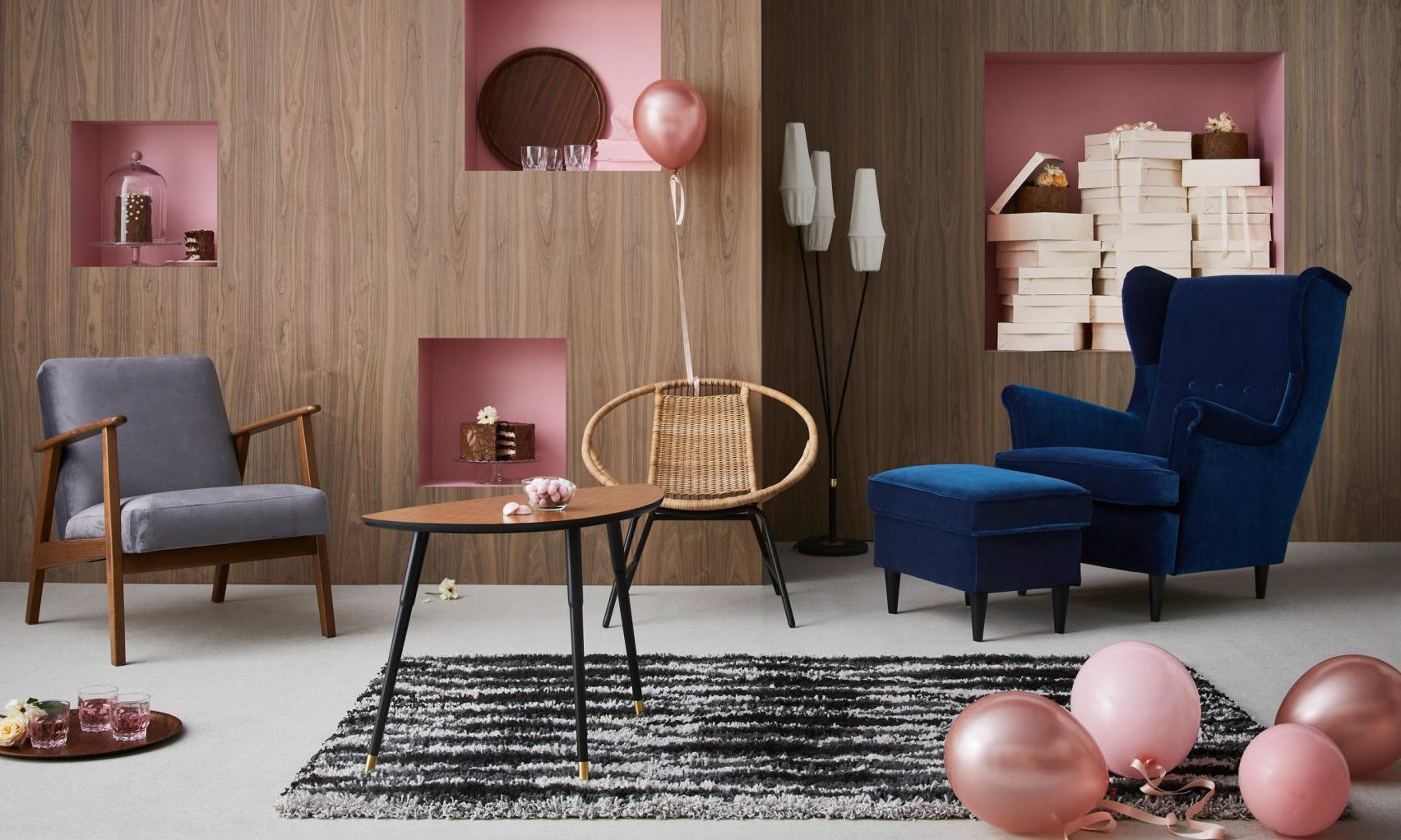75 周年特别献礼,IKEA 复刻发售 Gratulera 经典家具系列
