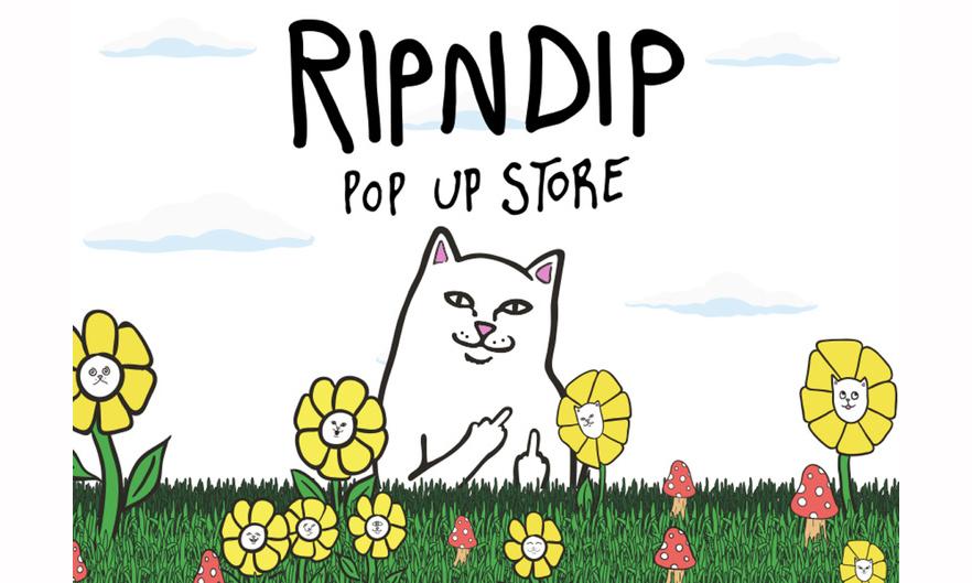 RIPNDIP 东京 Pop Up Store 开催