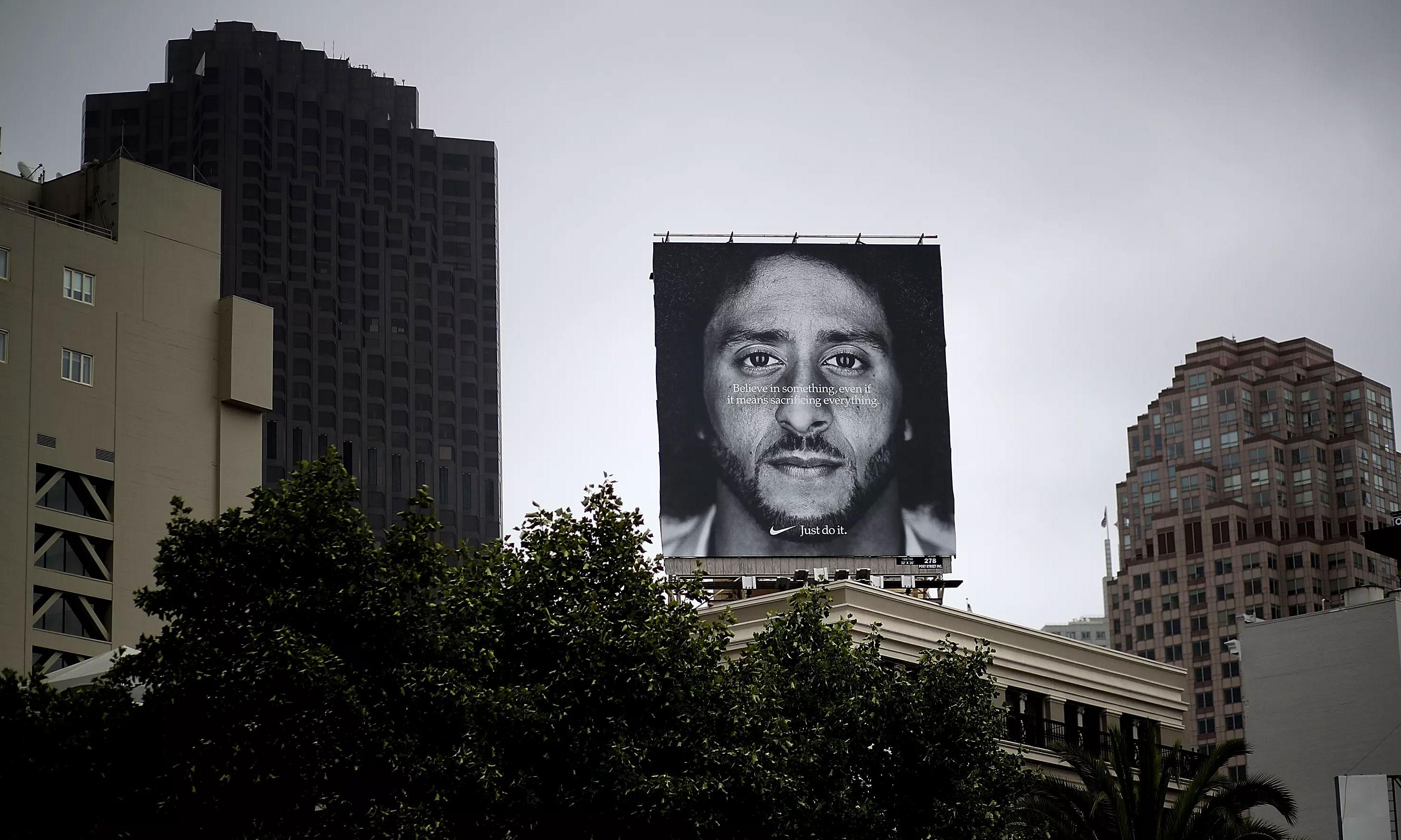 是亏还是赚?Colin Kaepernick 给 Nike 提高了 31% 的销售额